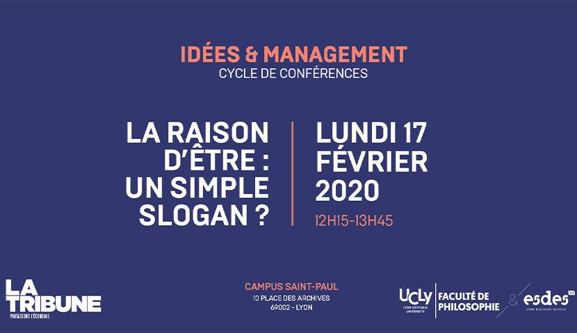 Présentation de la conférence Idées & Management en partenariat avec la tribune